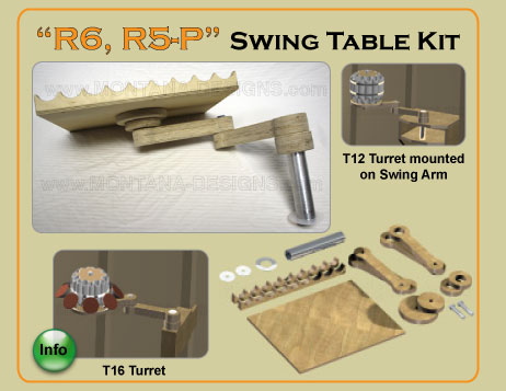 Wood Turners Swing Table